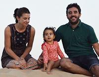 Paola, Alvaro and Irene